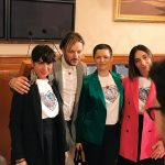 Press conference presenting the official T-shirt of Matera 2019 European capital of culture, designed by Yezael by Angelo Cruciani, Sala Caduti di Nassirya, Senate of the Republic, Palazzo Madama, Rome, 26 March 2019