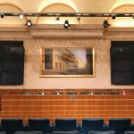 Interior of Sala Caduti di Nassirya, Senate of the Republic, Palazzo Madama, Rome