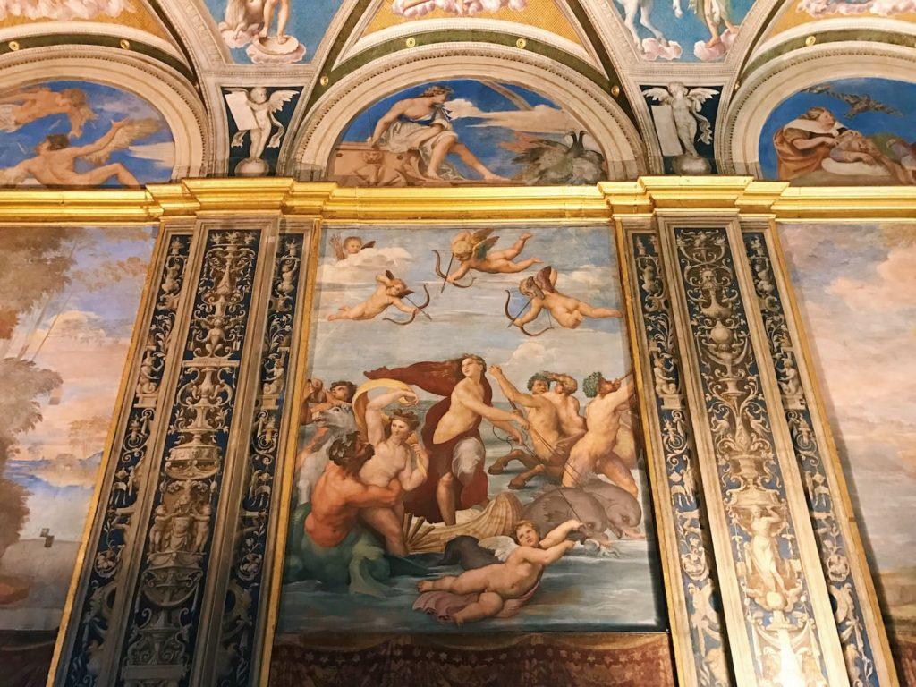 Raffaello Sanzio, Triumph of Galatea, 1513-1514, Sala di Galatea, Villa Farnesina, Rome