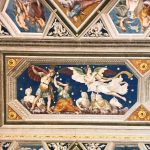 Baldassarre Peruzzi, Sala di Galatea, ceiling (detail), Villa Farnesina, Rome