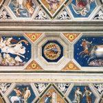 Baldassarre Peruzzi, Sala di Galatea, ceiling, Villa Farnesina, Rome