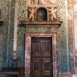 Baldassarre Peruzzi and helpers, Salone delle Prospettive (detail), 1517-1518, Villa Farnesina, Rome