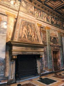 Baldassarre Peruzzi and helpers, Salone delle Prospettive, 1517-1518, Villa Farnesina, Rome