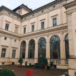 Main north-western façade of Villa Farnesina, Rome
