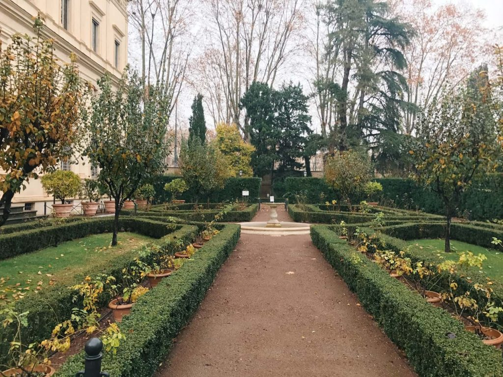 Garden of Villa Farnesina, Rome