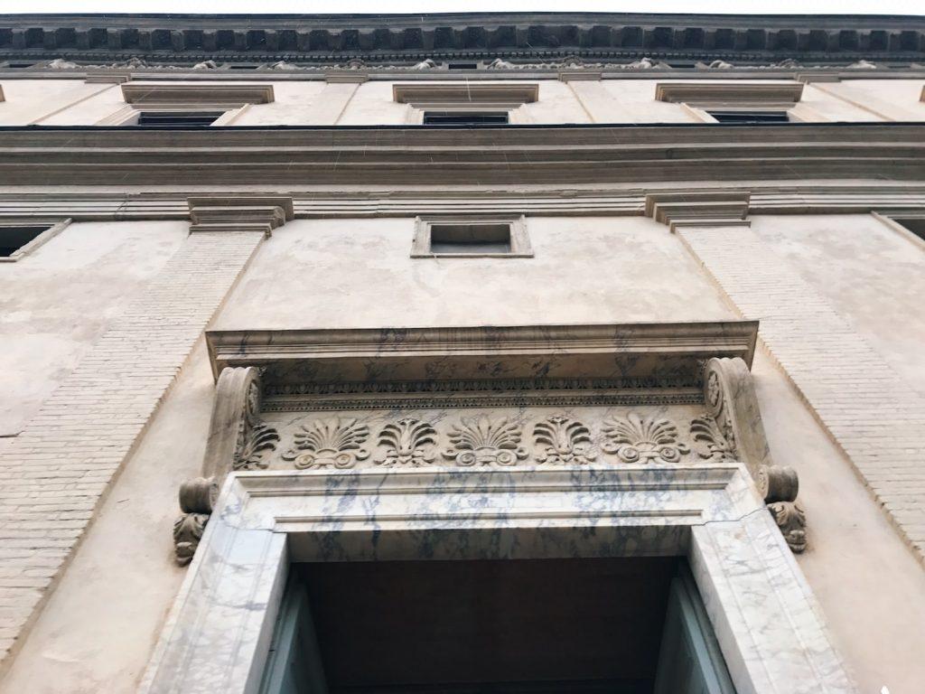 Exterior of Villa Farnesina, Rome