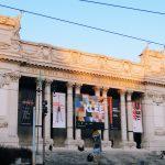 Esterior façade of the Galleria Nazionale d'Arte Moderna, Rome