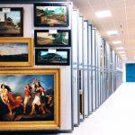 Storages of Galleria Nazionale d'Arte Moderna e Contemporanea in Rome, Photo credit (c) La Galleria Nazionale d'Arte Moderna e Contemporanea