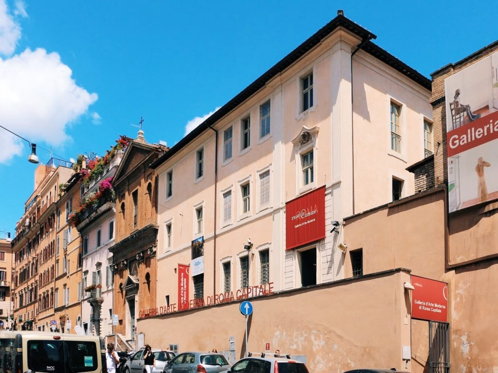 Storages of the Galleria d'Arte Moderna in Rome