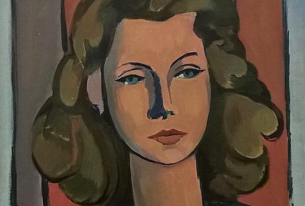 Giulio Turcato, Portrait of Palma Bucarelli, 1944, Rome, Galleria Nazionale d'Arte Moderna