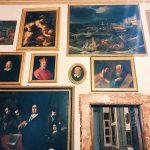 """Room I, also called """"Stanza dei Papi"""" (Popes room) or """"Stanza del soffitto azzurro"""" (Azure ceiling room), Rome, Palazzo Spada, Galleria"""