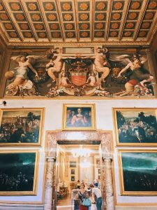 "Room II, also called ""Stanza alla fiamminga"" (Flemish room), Rome, Palazzo Spada, Galleria"