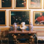 """Room II, also called """"Stanza alla fiamminga"""" (Flemish room), Rome, Palazzo Spada, Galleria"""