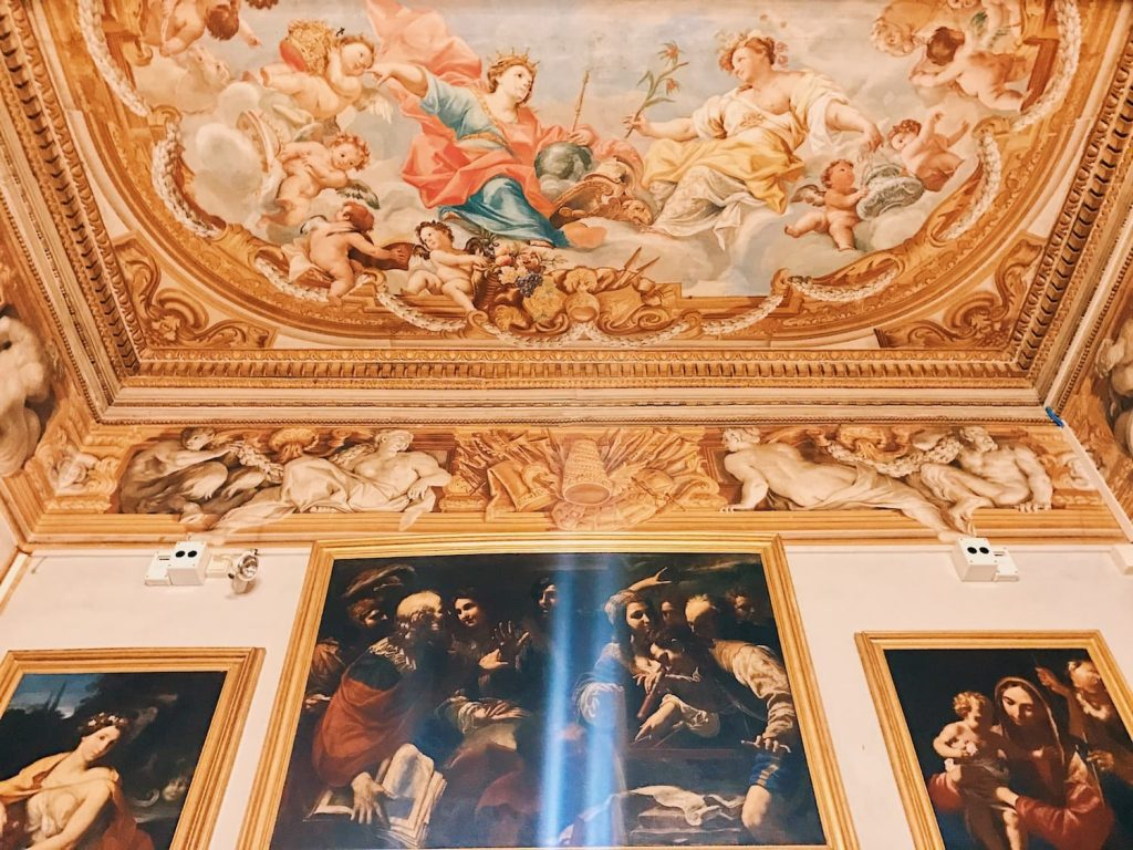 """Room III, also called """"Galleria del Cardinale"""" (Cardinal's gallery), Rome, Palazzo Spada, Galleria"""