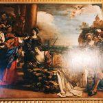 "Guercino, The Death of Dido, Room III, also called ""Galleria del Cardinale"" (Cardinal's gallery), Rome, Palazzo Spada, Galleria"