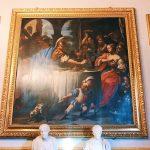 "Francesco Trevisani, Feast with Antony and Cleopatra, Room III, also called ""Galleria del Cardinale"" (Cardinal's gallery), Rome, Palazzo Spada, Galleria"