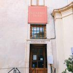 Entrance to the Galleria Spada from the garden atrium, Rome, Palazzo Spada