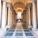Francesco Borromini, perspectival gallery, 1652-1653, Rome, Palazzo Spada