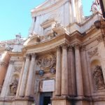 Chiesa di San Marcello al Corso façade, Rome