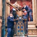 Moving of the Crucifix to the Vatican, Rome, chiesa di San Marcello al Corso, 26 March 2020