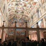 Raffaello's tapestries set-up at the Sistine Chapel to commemorate the Anno Sanzio, Vatican City, Sistine Chapel, 17 - 23 February 2020