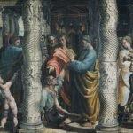 Raffaello Sanzio, The Healing of the Lame Man, 1515-16, tempera on paper, mounted on canvas (340 x 540) cm, London, Victoria and Albert Museum
