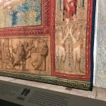 Pieter van Alest's workshop, Handing-over the Keys, detail of the tapestry after Raffaello Sanzio's design, 1517-1519, southern wall of the Sistine Chapel, Vatican City, Sistine Chapel, 17 - 23 February 2020