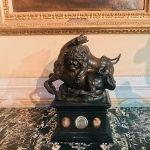 Antonio Susini, Lion attacking a horse, 1580s, coated bronze and wood, Galleria Corsini, Rome, Galleria Nazionale d'Arte Antica in Palazzo Corsini