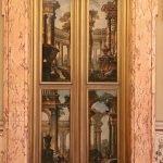 Pietro Piazza, Perspectival architectures, painted door, Galleria Corsini, Rome, Galleria Nazionale d'Arte Antica in Palazzo Corsini