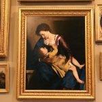 Orazio Gentileschi, Madonna con Bambino (Virgin and Child), 1605-1610, oil on canvas Galleria Corsini, Rome, Galleria Nazionale d'Arte Antica in Palazzo Corsini, Inv. 107