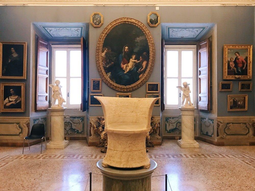 The Camera del Camino (Fireplace Chamber), at Galleria Corsini, Rome, Galleria Nazionale d'Arte Antica in Palazzo Corsini