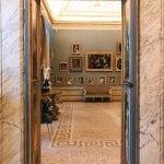View of Camera del Camino (Fireplace Chamber), at Galleria Corsini, Rome, Galleria Nazionale d'Arte Antica in Palazzo Corsini