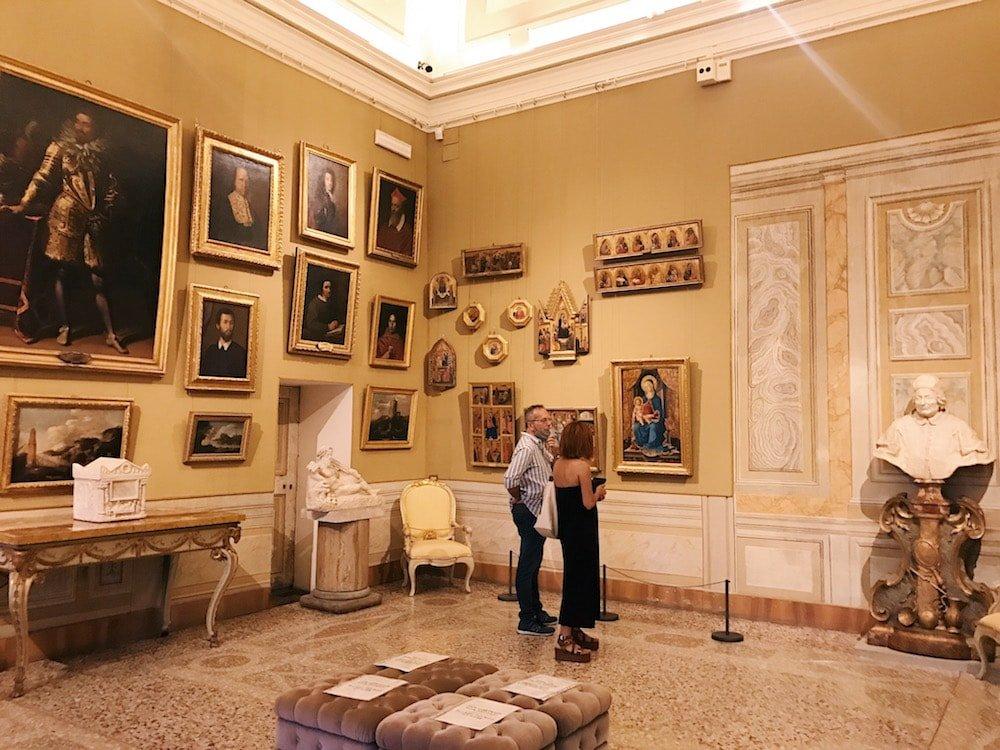 Gabinetto Verde (Green Cabinet), at Galleria Corsini, Rome, Galleria Nazionale d'Arte Antica in Palazzo Corsini