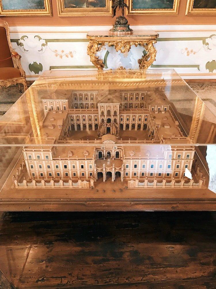 Scale model of Palazzo Corsini, Galleria Corsini, Rome, Galleria Nazionale d'Arte Antica in Palazzo Corsini