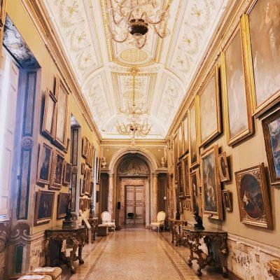 Galleria del Cardinale (Cardinal Gallery) of the Galleria Corsini, Rome, Galleria Nazionale d'Arte Antica in Palazzo Corsini
