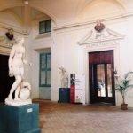 Entrance hall to the Galleria Corsini, Rome, Galleria Nazionale d'Arte Antica in Palazzo Corsini