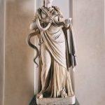 Statue of Igea, marble, entrance hall to the Galleria Corsini, Rome, Galleria Nazionale d'Arte Antica in Palazzo Corsini