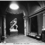 R. Moscioni, Set-up of Hercules and Lychas by Antonio Canova at Galleria Corsini, Rome, Palazzo Corsini, 1901-1917. Image (C) Galleria Nazionale d'Arte Antica